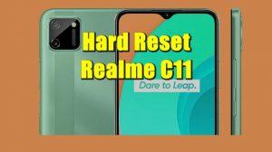 Cara Reset HP Realme C11