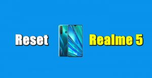Cara Reset Hp Realme 5 Pro