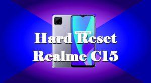 Cara Reset Hp Realme C15