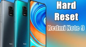 Cara Reset Hp Redmi Note 9