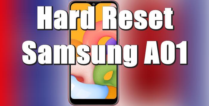 Cara Reset Hp Samsung A01