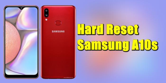 Cara Reset Hp Samsung Galaxy A10s