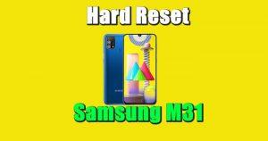 Cara Reset Hp Samsung M31