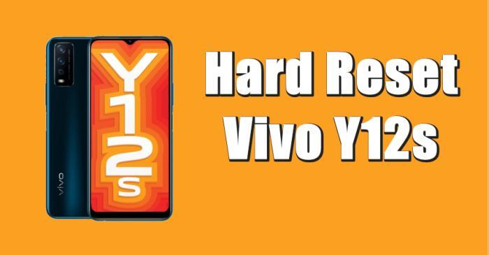 Cara Reset Hp Vivo Y12s