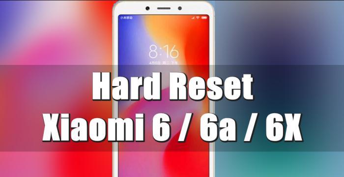 Cara Reset Hp Xiaomi 6A