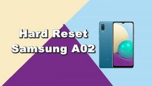 Cara Reset Samsung A02 Lupa Pola
