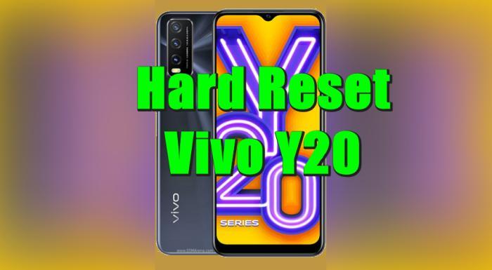 Cara Reset Hp Vivo Y20