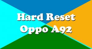 Cara Reset Hp Oppo A92