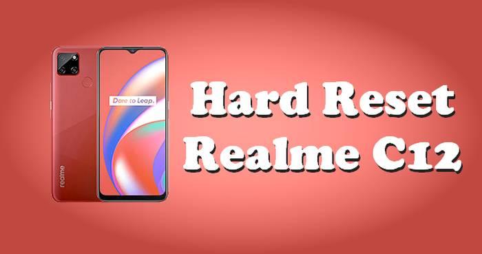 Cara Reset Realme C12