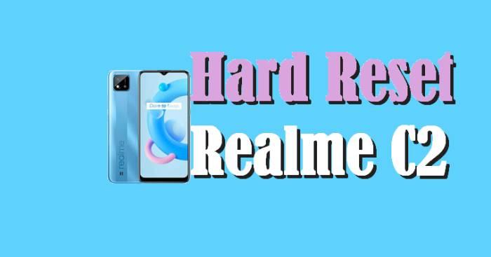 Cara Reset Realme C20