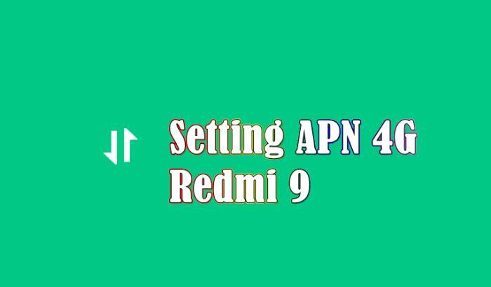 Cara Setting APN 4G Xiaomi Redmi 9
