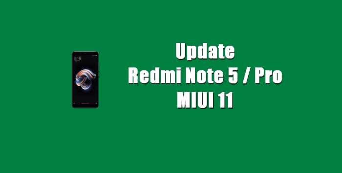 Cara Update Redmi Note 5